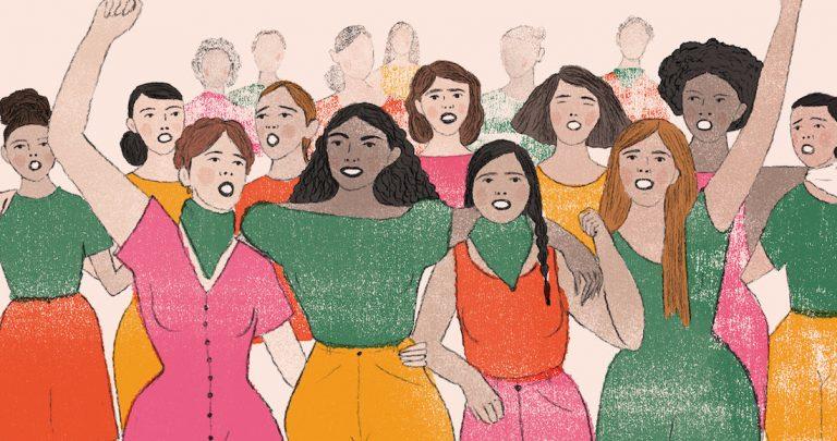 Homenaje 8 de Marzo dia de la Mujer.